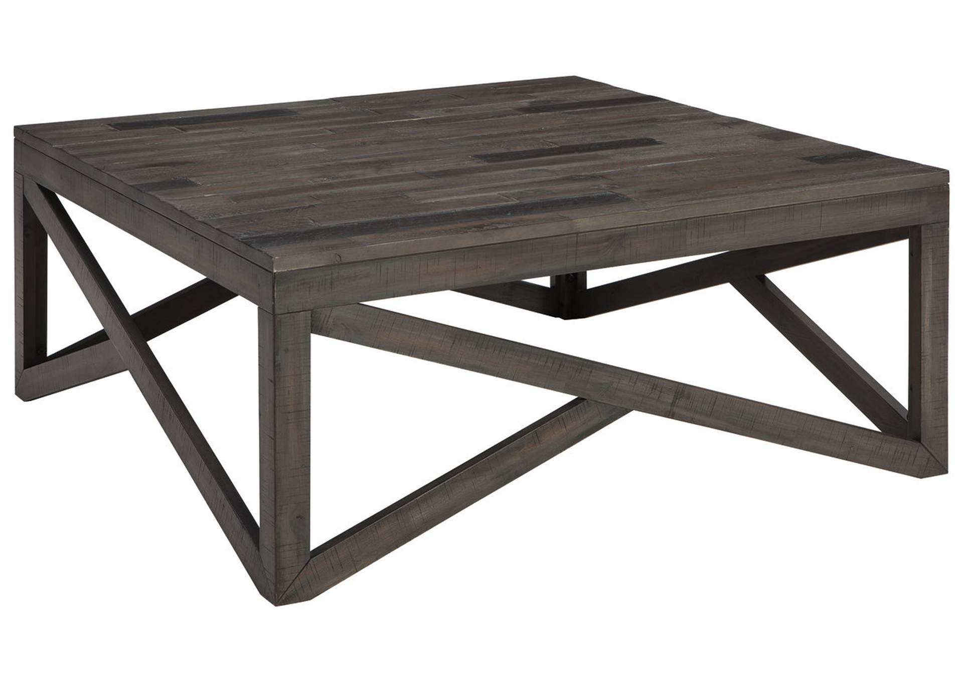 Haroflyn Gray Square Cocktail Table,Direct To Consumer Express