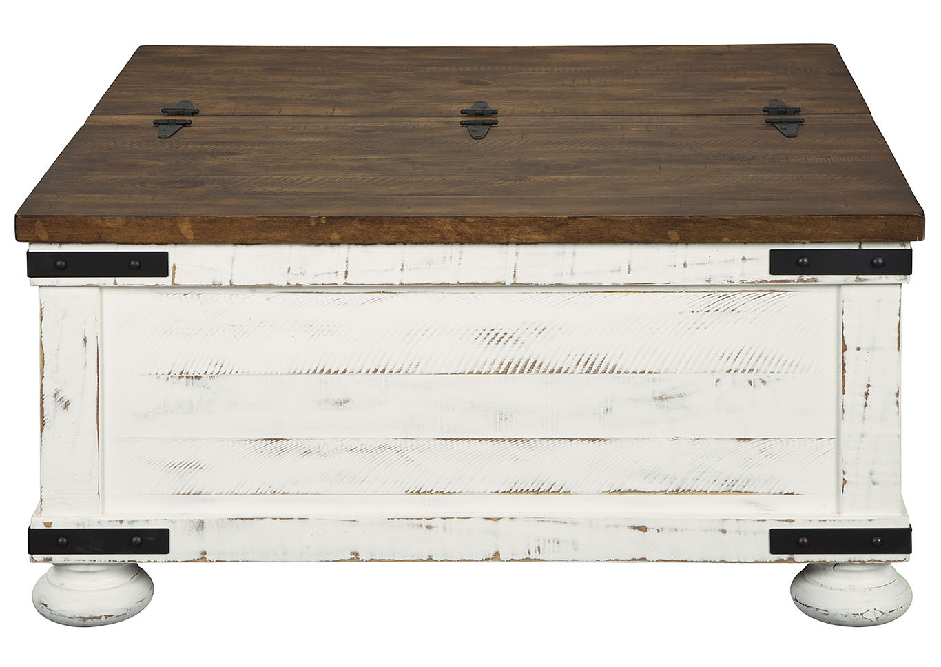 Wystfield White Cocktail Table w/Storage,Signature Design By Ashley