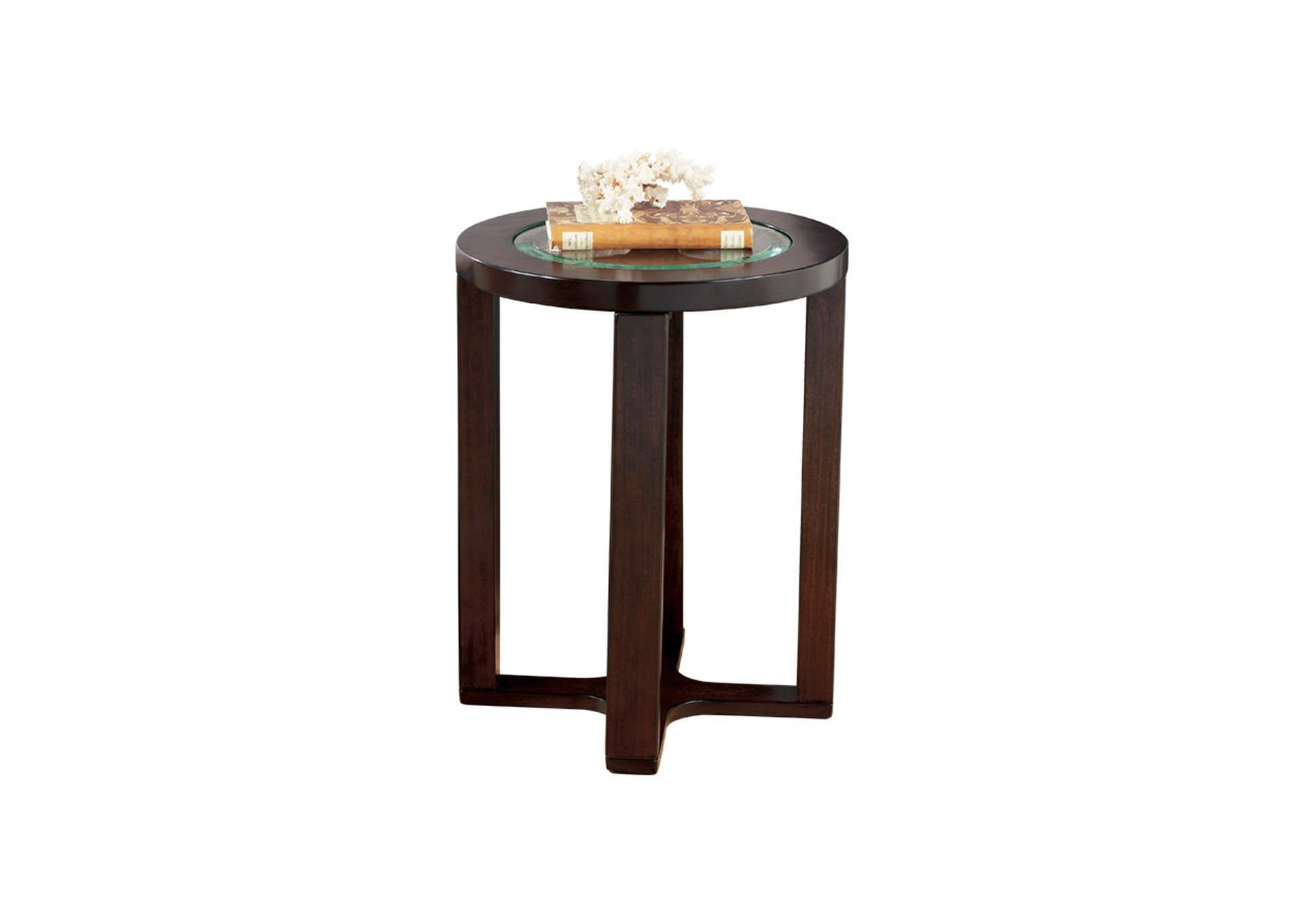 Marion Round End Table,Direct To Consumer Express