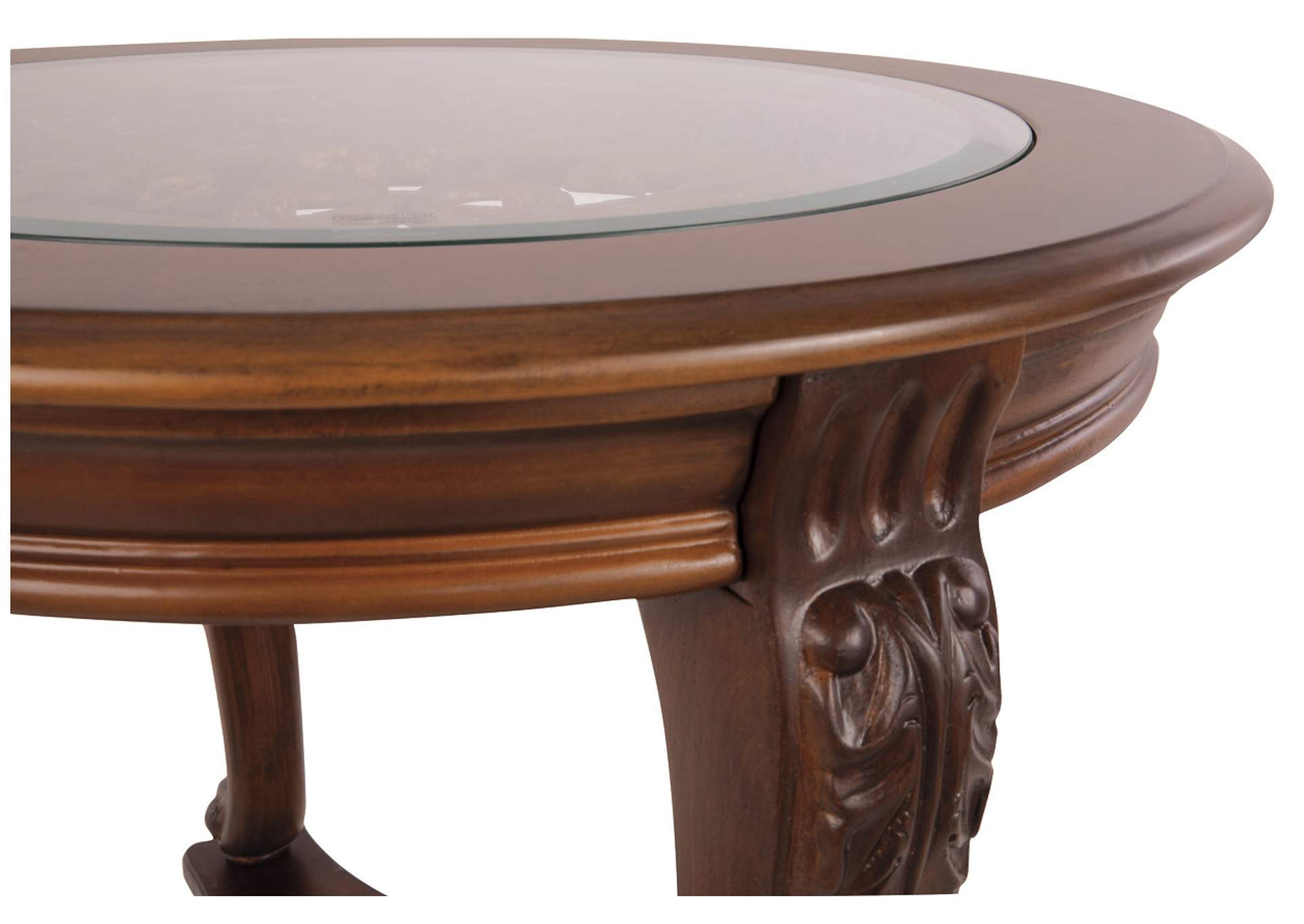 Norcastle Round End Table,Direct To Consumer Express