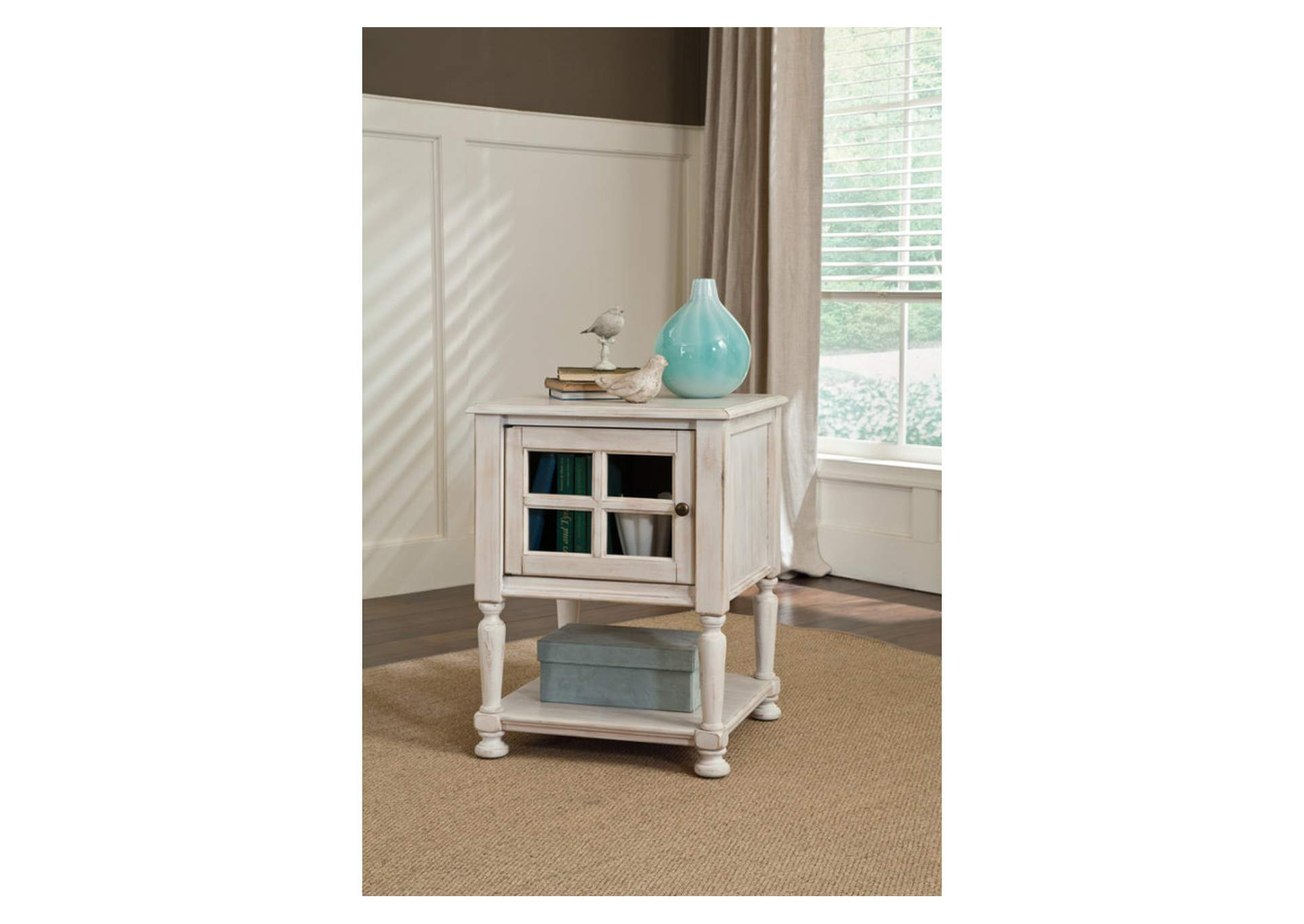 Cottage Accents Chair Side End Table,Direct To Consumer Express