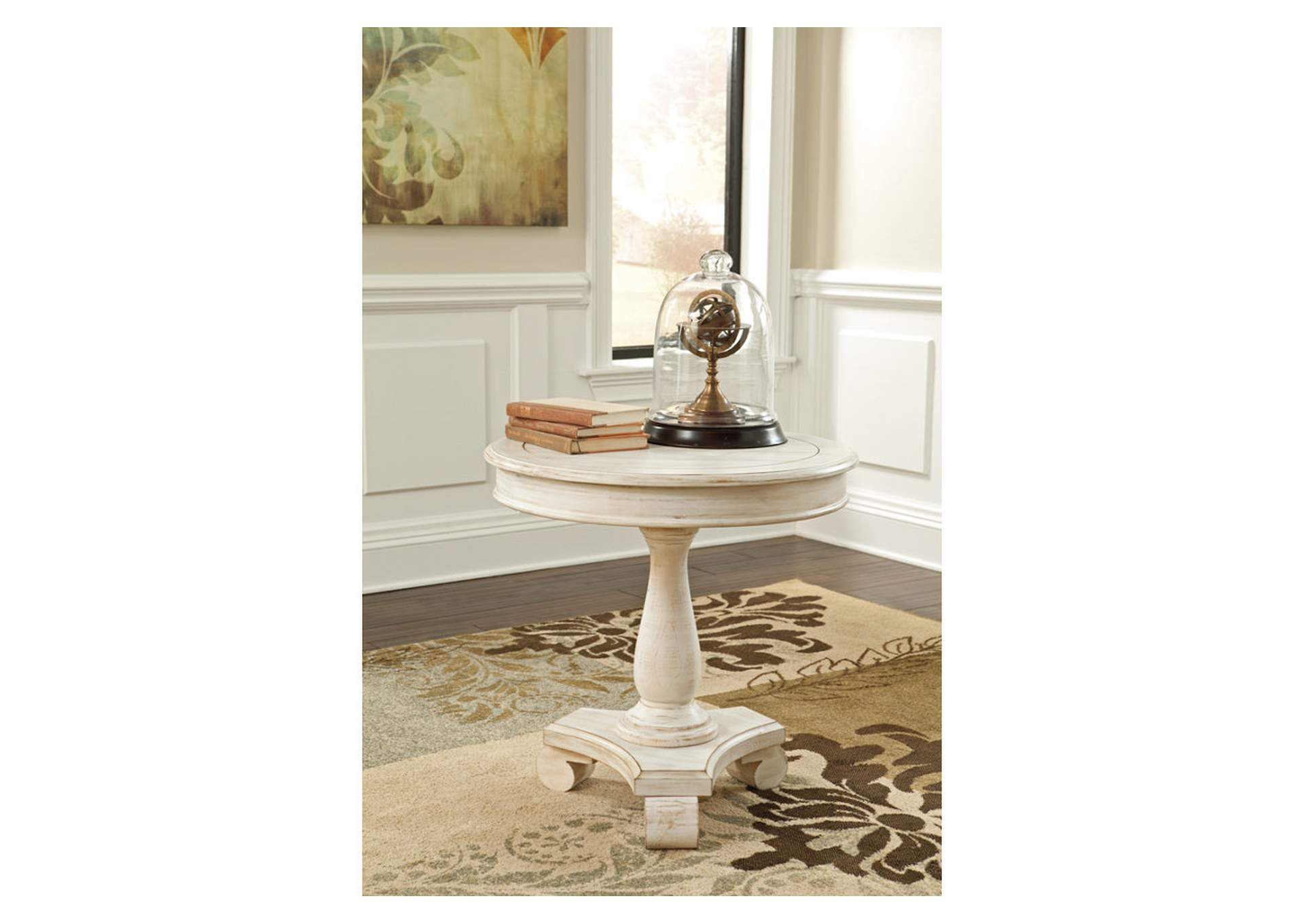 Cottage Accents Round Accent Table,Direct To Consumer Express