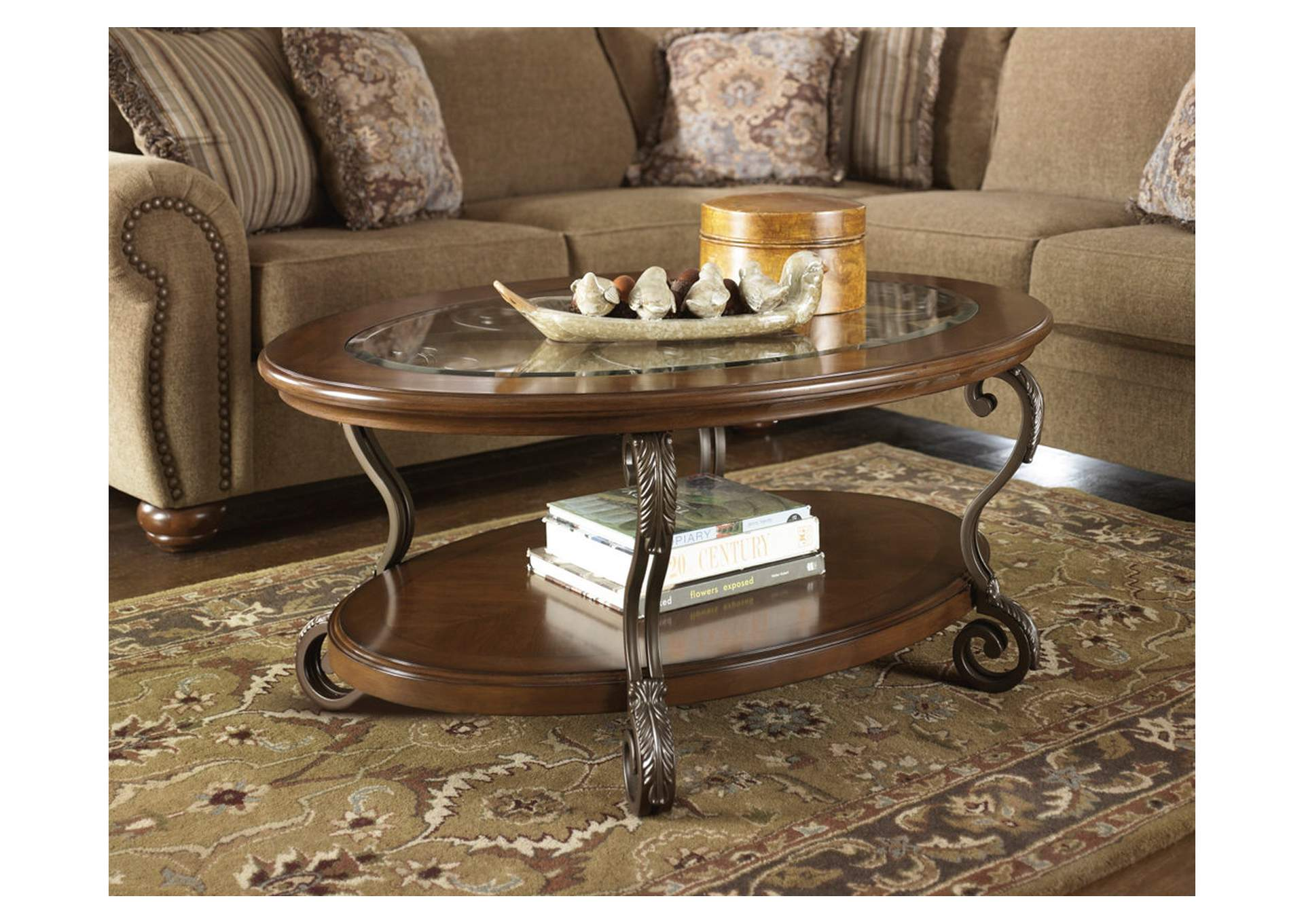 Nestor Oval Cocktail Table,Direct To Consumer Express