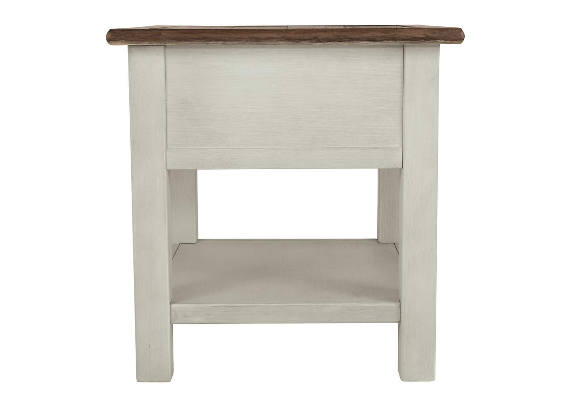 Bolanburg Two-tone Chair Side End Table,Direct To Consumer Express