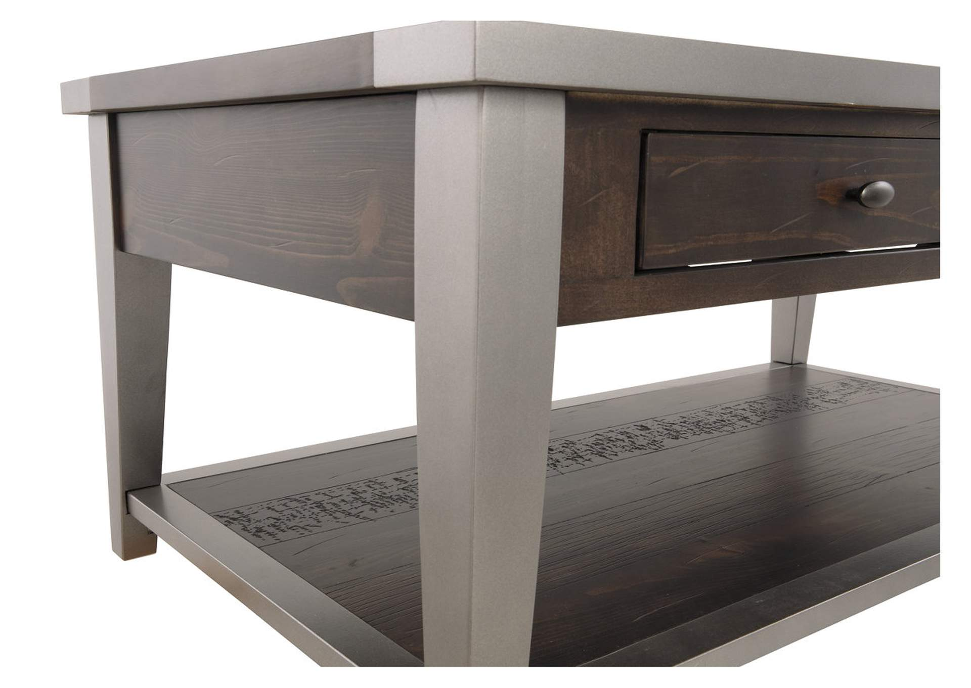 Branbury Gray Rectangular Cocktail Table,Direct To Consumer Express