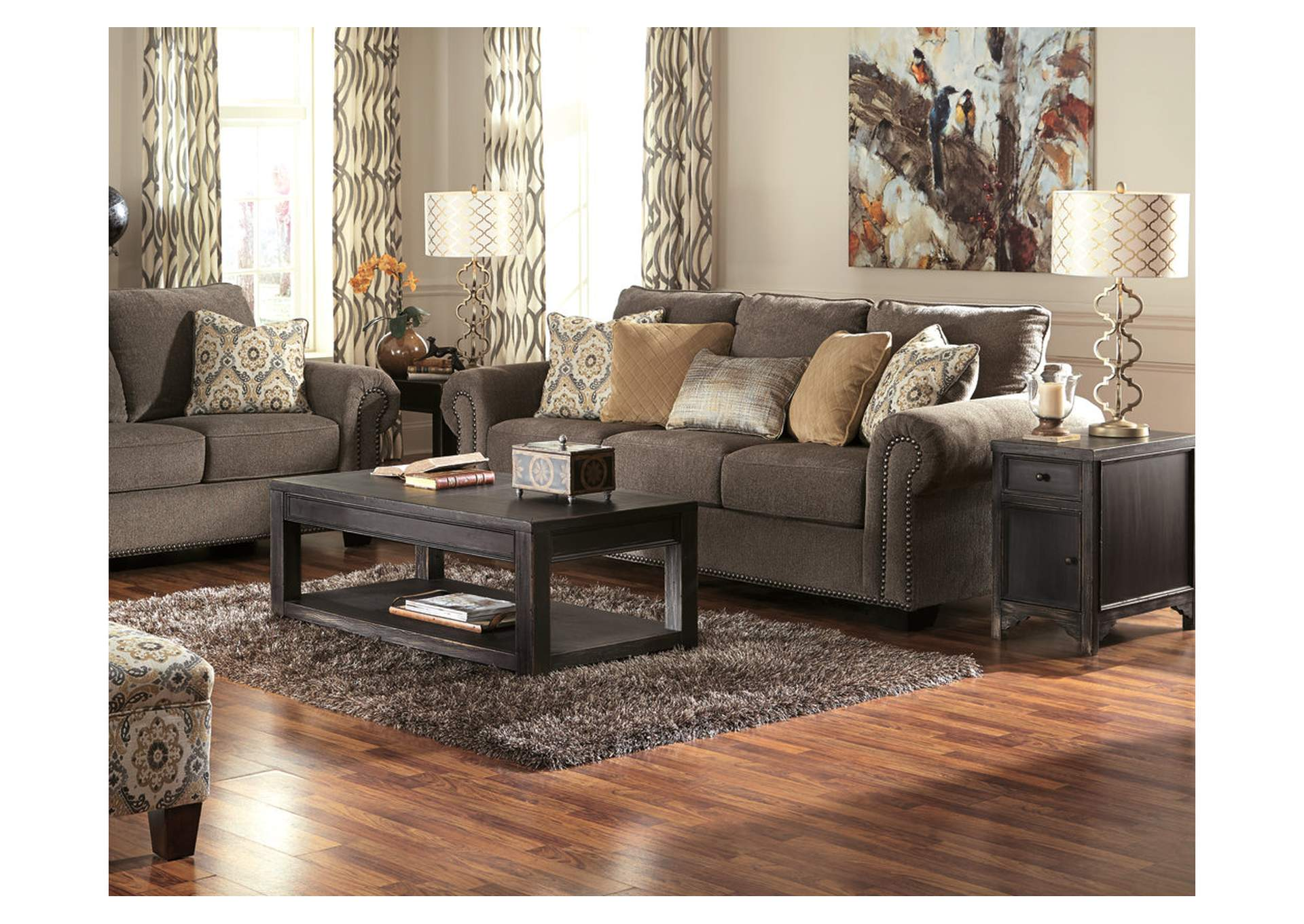 Gavelston Black Coffee Table,Direct To Consumer Express
