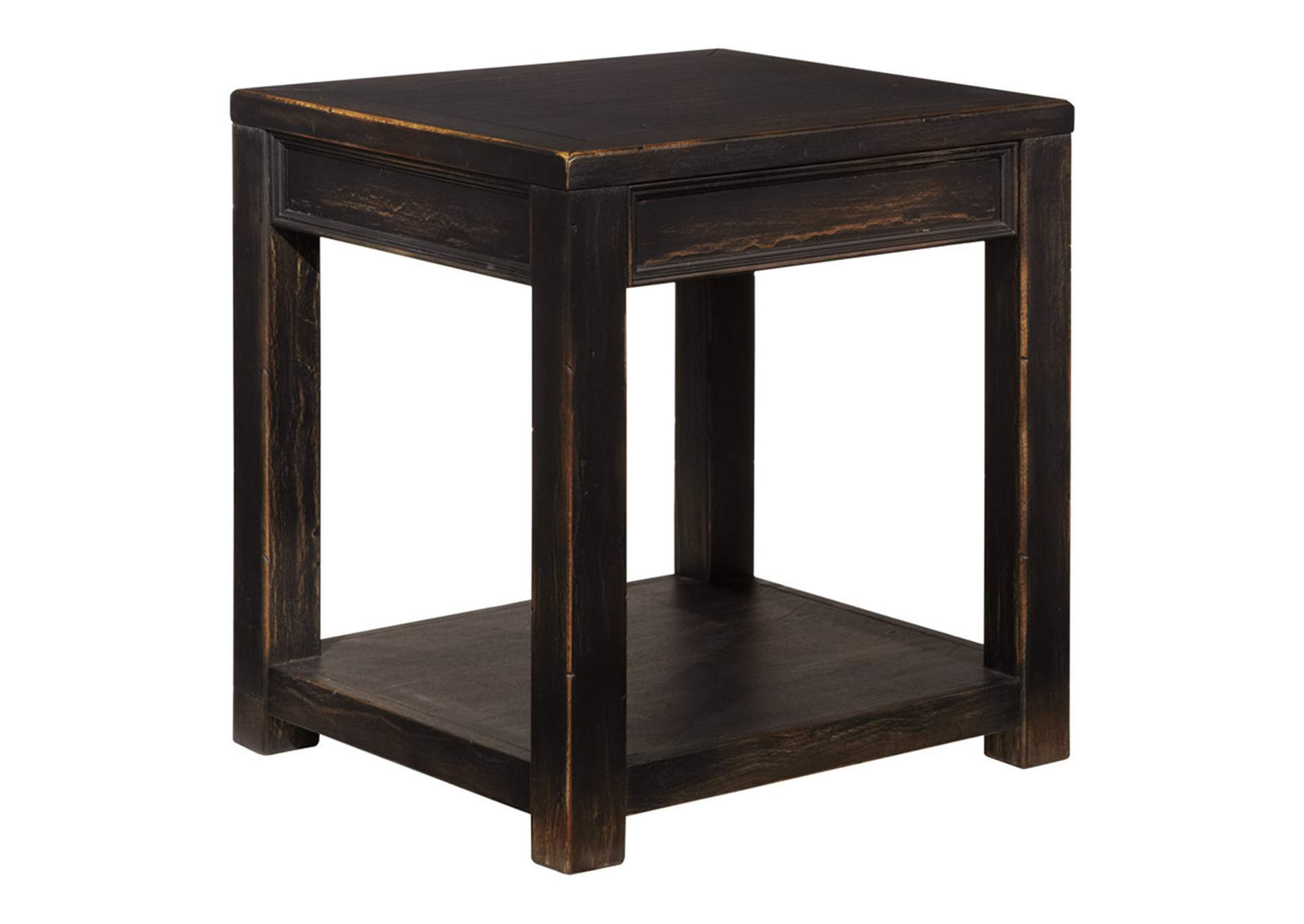 Gavelston Black End Table,Direct To Consumer Express