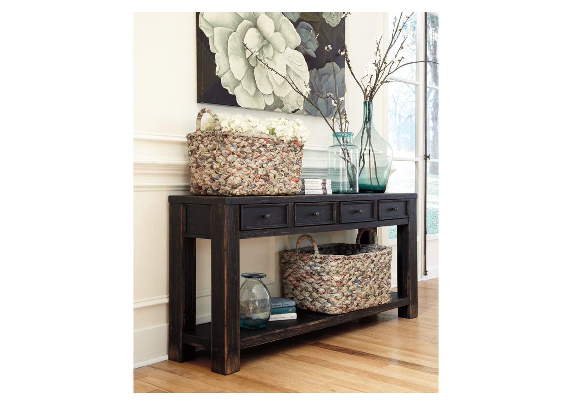 Gavelston Black Sofa Table,Direct To Consumer Express