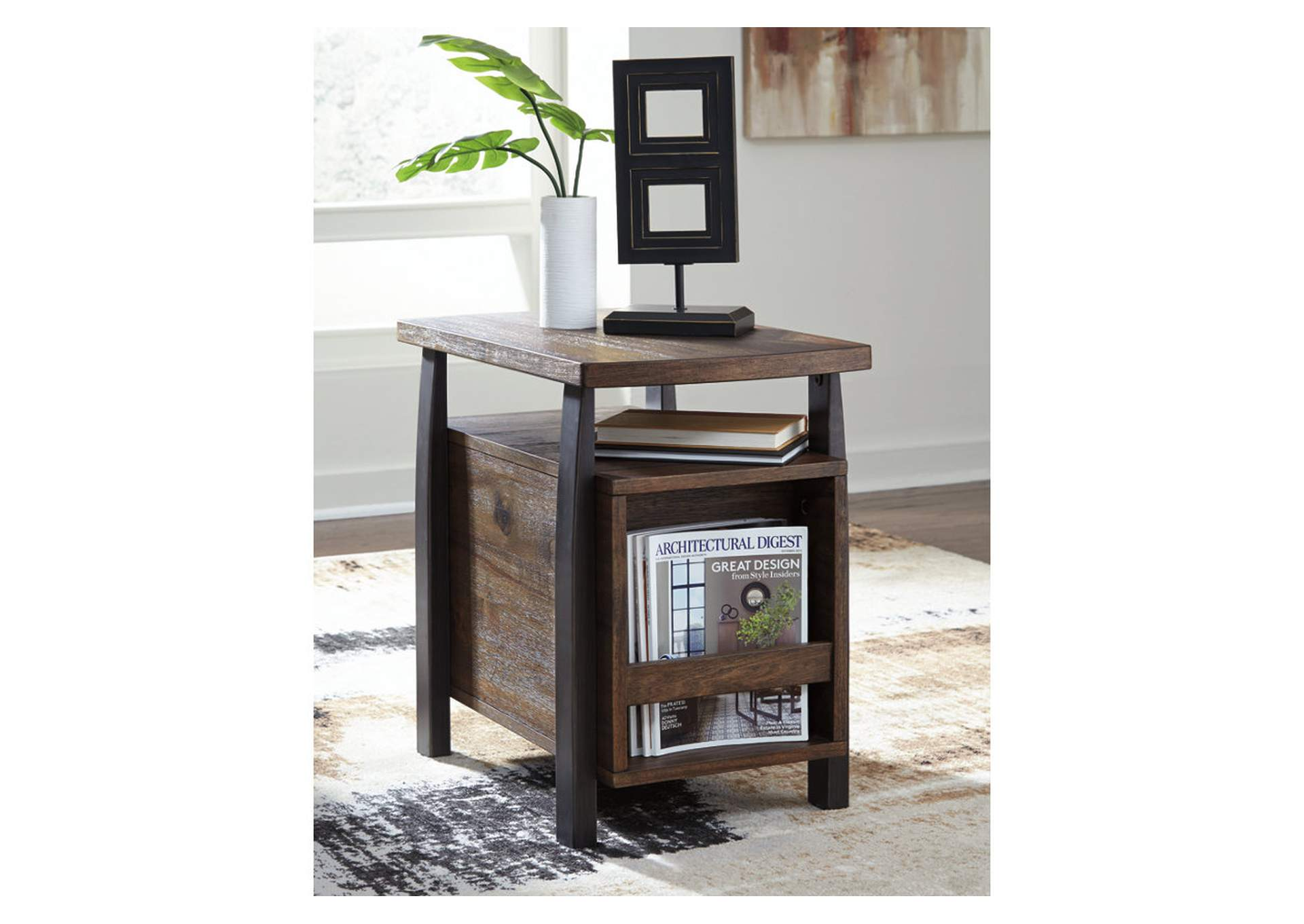 Vailbry Brown Chair Side End Table,Signature Design By Ashley