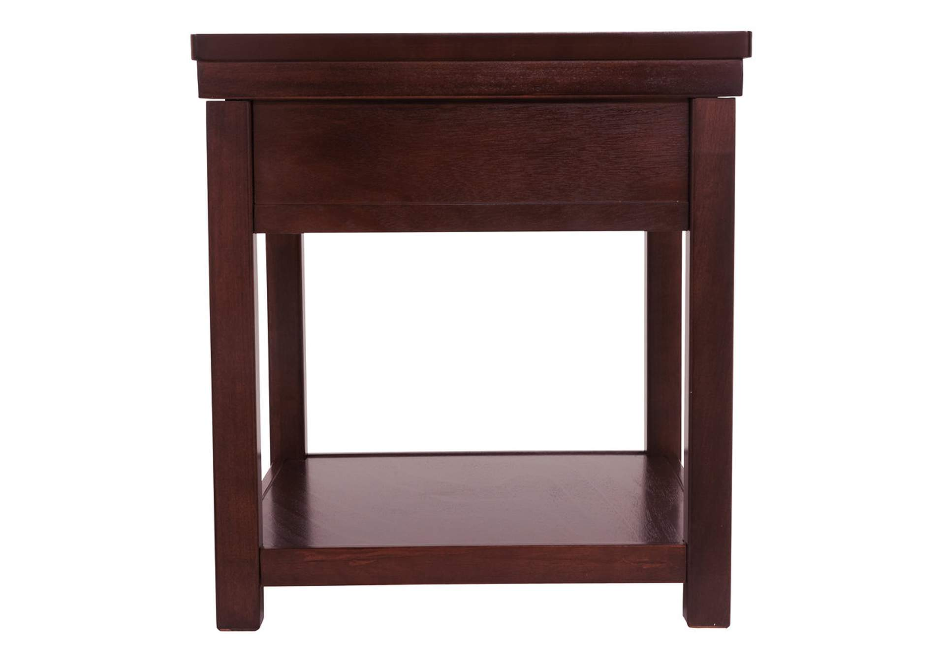 Hatsuko Brown End Table,Direct To Consumer Express