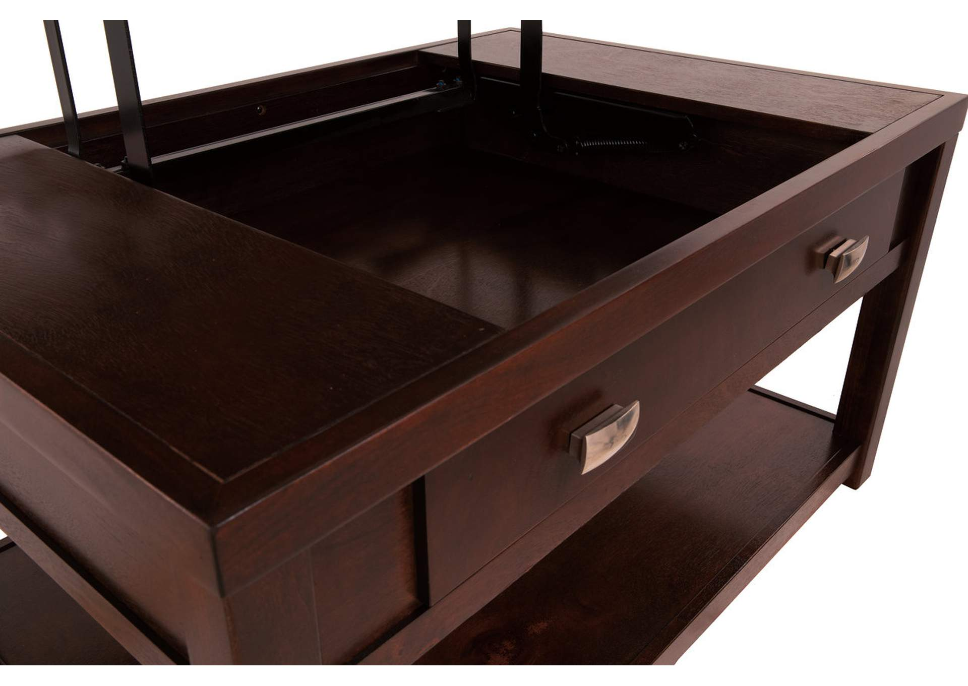 Hatsuko Brown Coffee Table w/Lift Top,Direct To Consumer Express