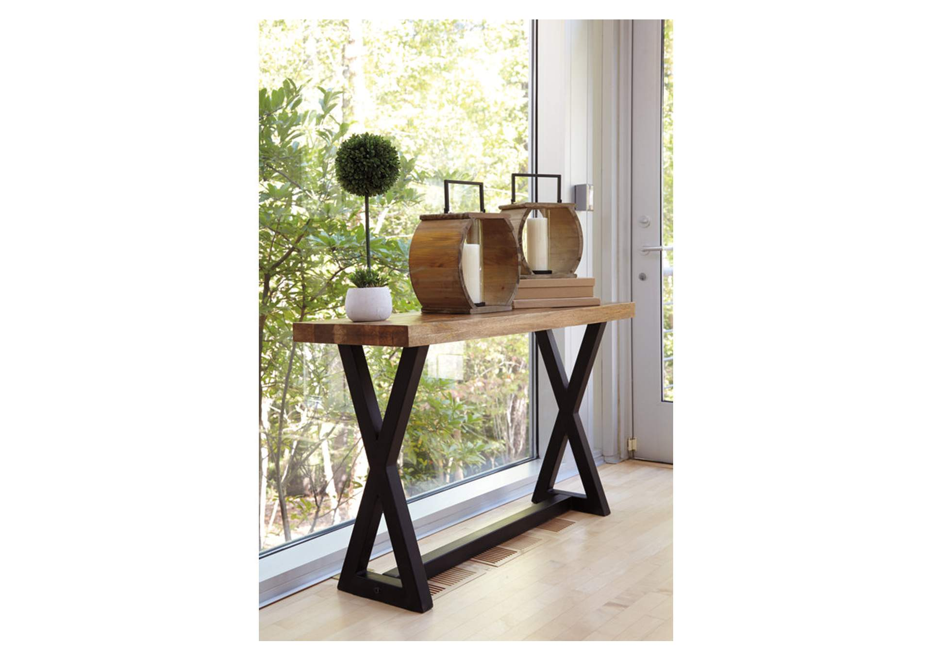 Wesling Brown Sofa Table,Direct To Consumer Express