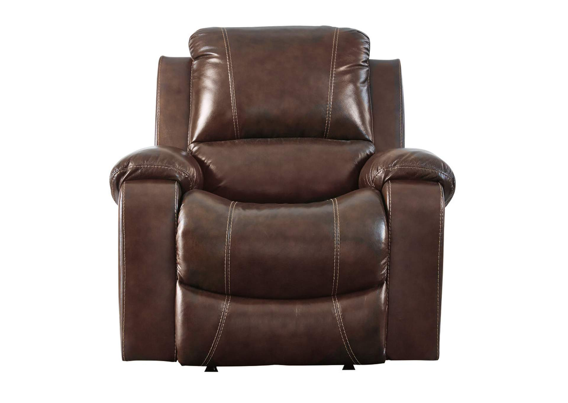 Rackingburg Mahogany Rocker Recliner,Signature Design By Ashley