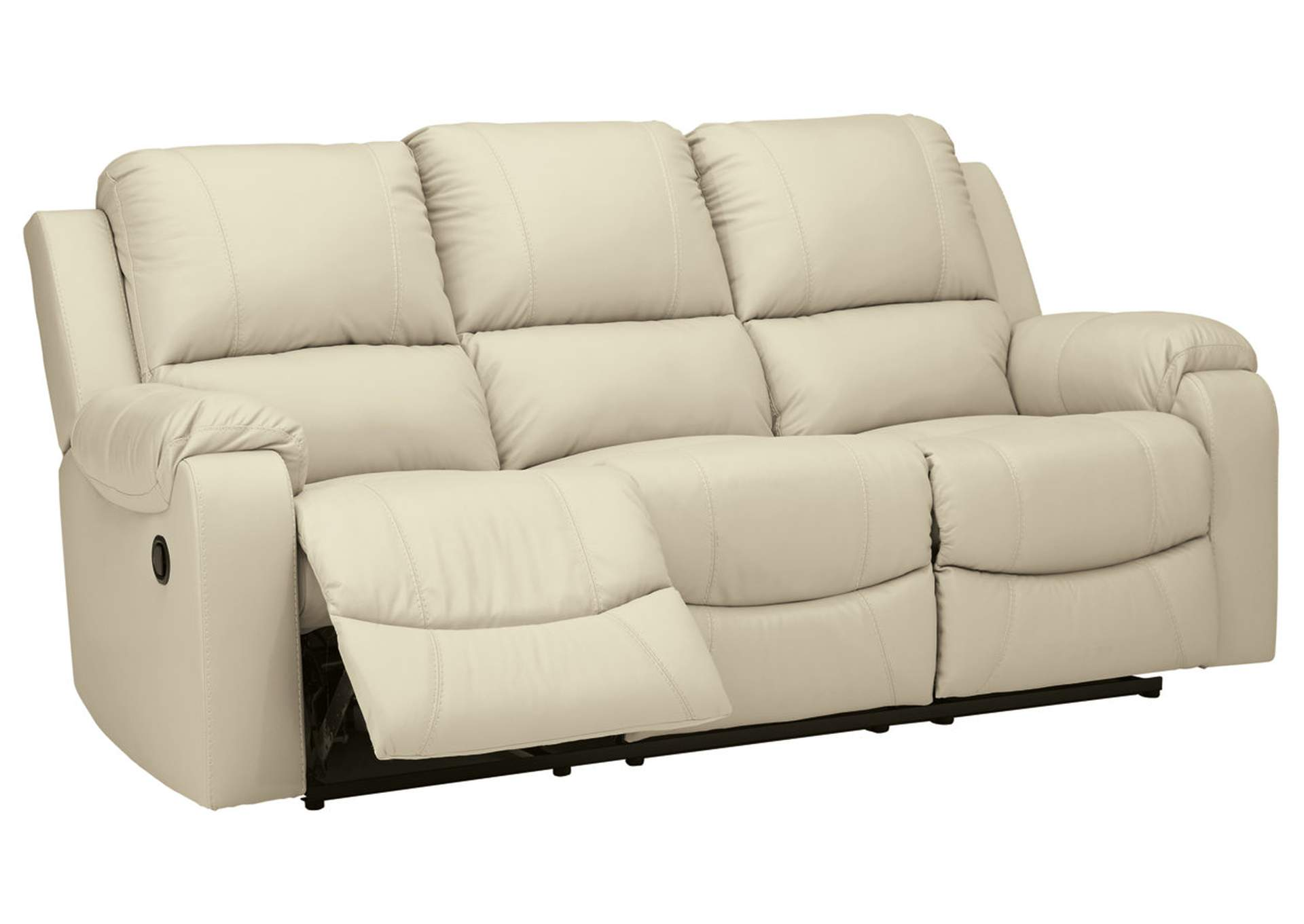 Rackingburg Cream Reclining Sofa,Signature Design By Ashley