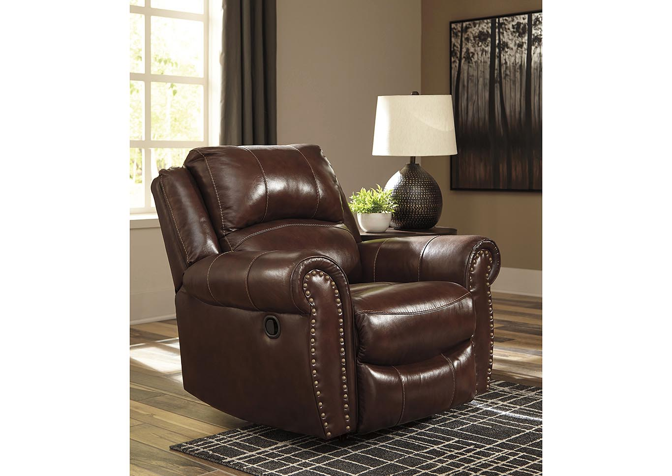 Bingen Harness Rocker Recliner,Signature Design By Ashley