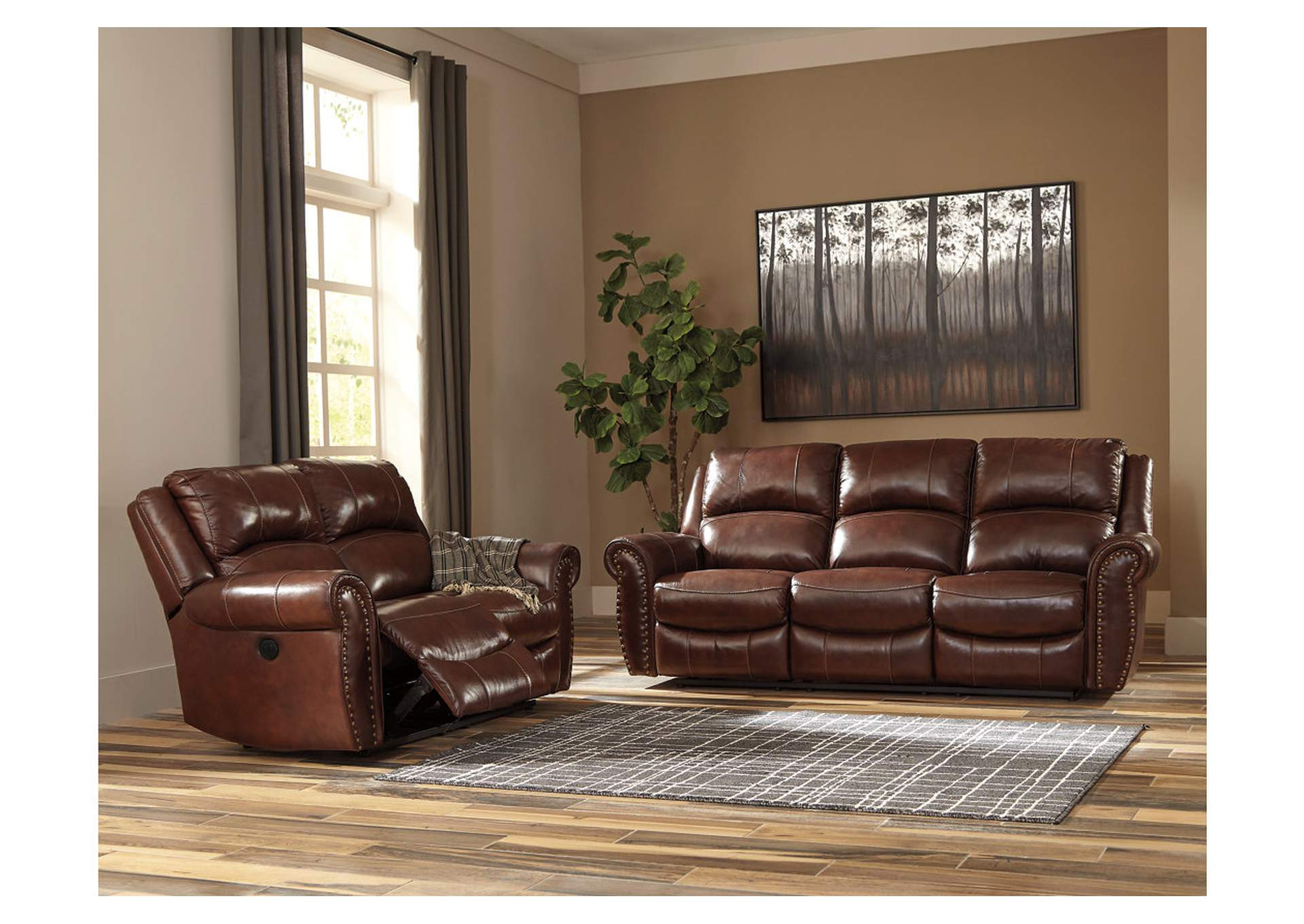 Bingen Harness Power Reclining Sofa,Signature Design By Ashley