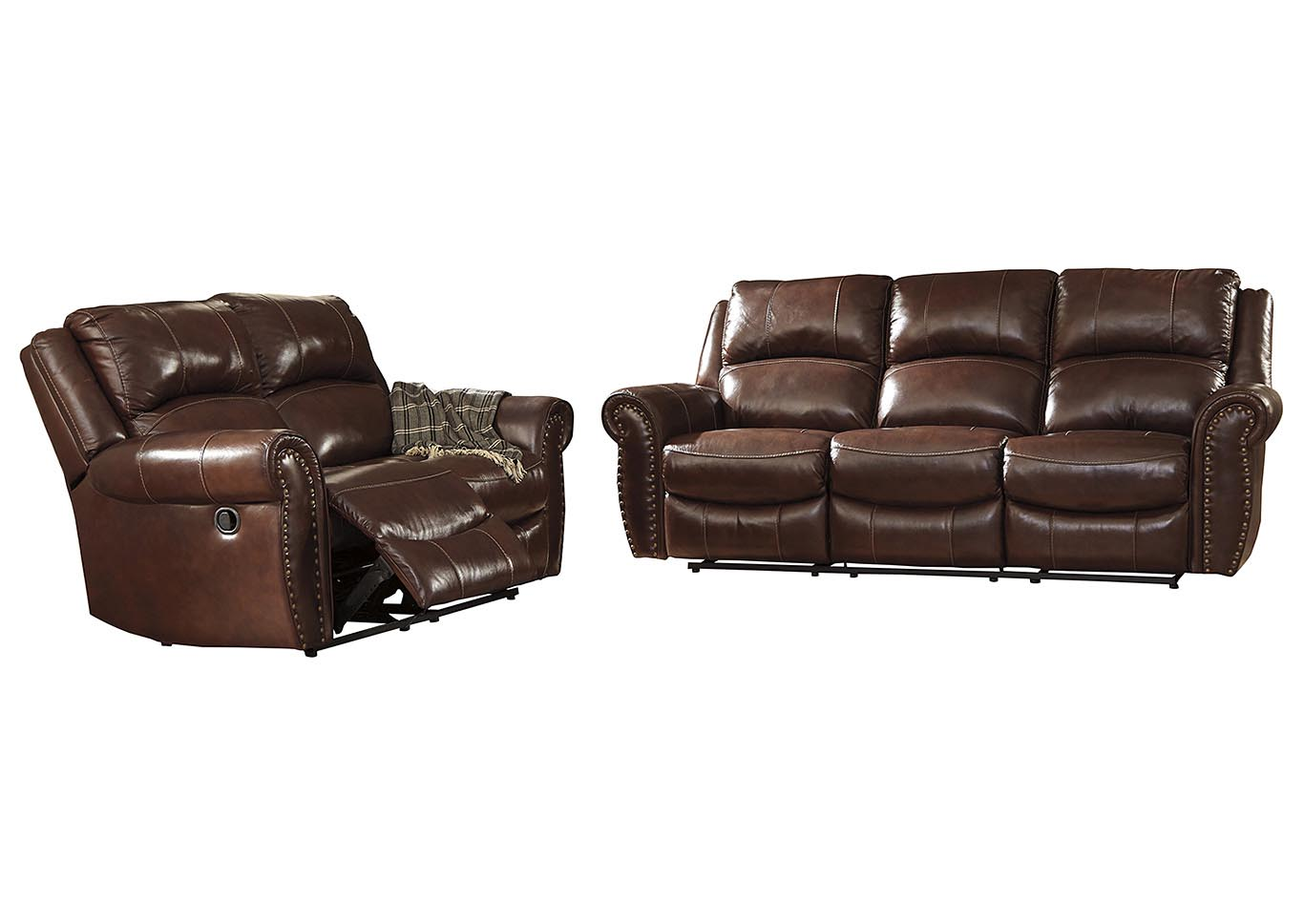 Bingen Harness Reclining Sofa & Loveseat,Signature Design By Ashley
