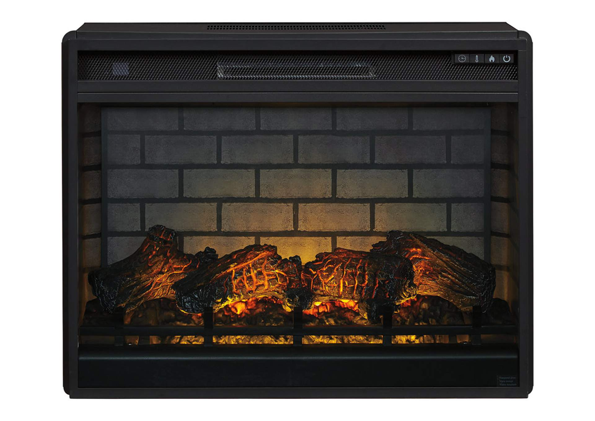 Entertainment Accessories Black Electric Infrared Fireplace Insert,Signature Design By Ashley