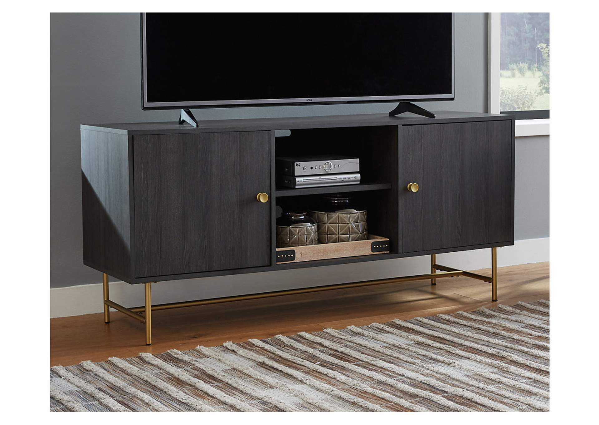 "Yarlow 60"" TV Stand,Signature Design By Ashley"