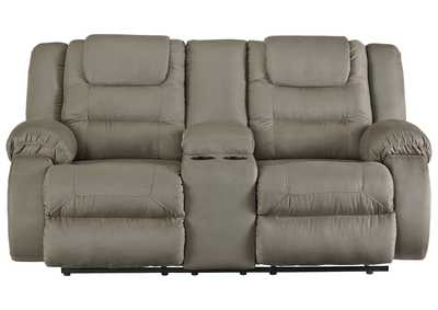 Image for McCade Cobblestone Double Reclining Loveseat w/Console
