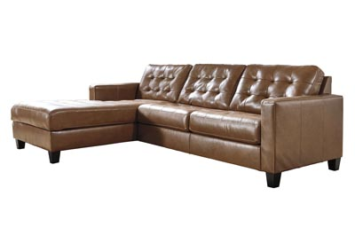 Image for Baskove Auburn Left-Arm Facing Sofa Chaise