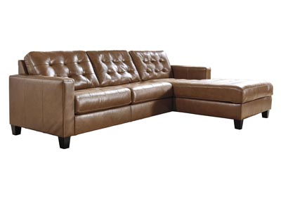 Image for Baskove Auburn Right-Arm Facing Sofa Chaise