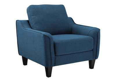 Image for Jarreau Blue Chair