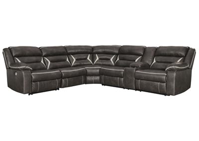 Kincord Midnight LAF Power Reclining Sectional w/Console
