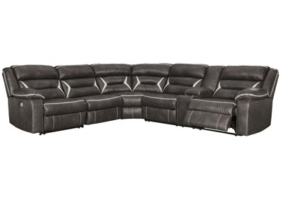 Kincord Midnight LAF Power Reclining Sectional w/Console,Signature Design By Ashley