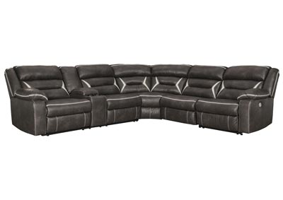 Image for Kincord Midnight RAF Power Reclining Sectional w/Console