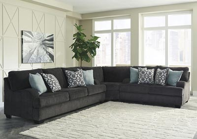 Image for Charenton Charcoal Sectional