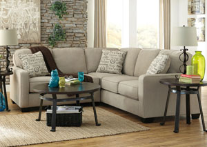 Alenya RAF Quartz Sectional,Signature Design By Ashley