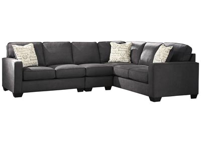 Image for Alenya Charcoal RAF Extended Sectional