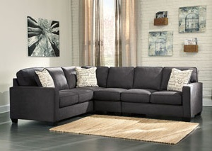 Image for Alenya Charcoal LAF Extended Sectional
