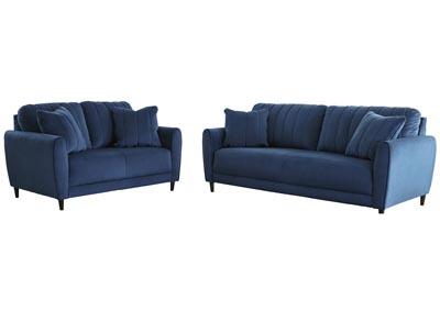 Enderlin Ink Sofa and Loveseat