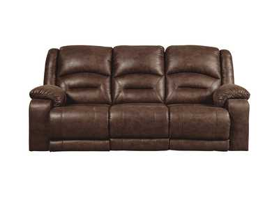 Image for Carrarse Teak Power Reclining Sofa