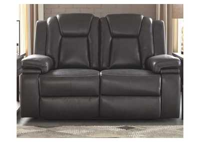 Image for Garristown Gray Power Reclining Loveseat