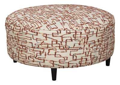 Image for Amici Oversized Accent Ottoman