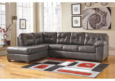 Image for Alliston DuraBlend Gray LAF Chaise Sectional