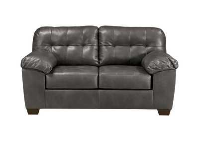 Image for Alliston DuraBlend Gray Loveseat