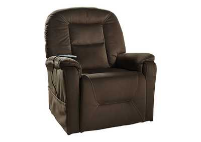 Image for Samir Brown Power Lift Recliner