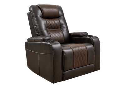 Image for Composer Brown Power Recliner