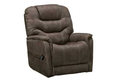 Image for Ballister Gunmetal Power Lift Recliner