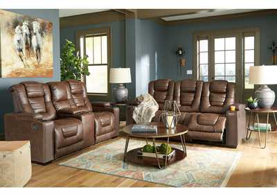 Owner's Box Power Reclining Sofa and Loveseat,Signature Design By Ashley