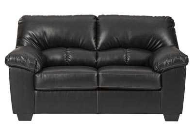 Image for Brazoria Black Loveseat