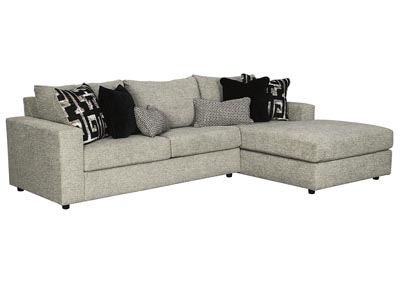Ravenstone Flint Right-Arm Facing Chaise End Sofa