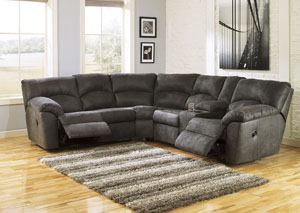 Image for Tambo Pewter Reclining Sectional