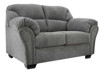 Image for Allmaxx Pewter Loveseat