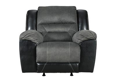 Earhart Slate Rocker Recliner,Signature Design By Ashley