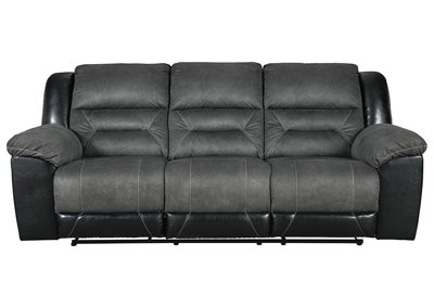 Image for Earhart Slate Reclining Sofa